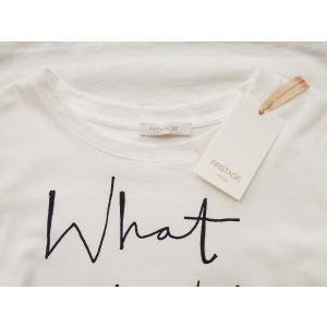 イタリア製 ロゴTシャツ レディース ホワイト 白 白T 半袖 フレンチスリーブ 9号 おしゃれ カジュアル 女性 婦人 シンプル 通販|classica|08