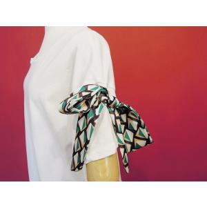 イタリア製 リボン付き半袖Tシャツ 白 白Tシャツ レディース ホワイト 春 夏 9号 カットソー おしゃれ 通販 カジュアル 無地 シンプル|classica|05