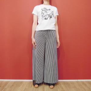 イタリア製 ロゴプリント半袖Tシャツ レディース 白 白Tシャツ ホワイト 30代 40代 春夏 9号 カットソー おしゃれ 通販 Susy Mix|classica