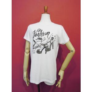 イタリア製 ロゴプリント半袖Tシャツ レディース 白 白Tシャツ ホワイト 30代 40代 春夏 9号 カットソー おしゃれ 通販 Susy Mix|classica|02
