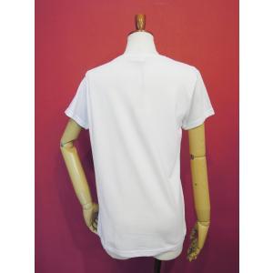 イタリア製 ロゴプリント半袖Tシャツ レディース 白 白Tシャツ ホワイト 30代 40代 春夏 9号 カットソー おしゃれ 通販 Susy Mix|classica|04
