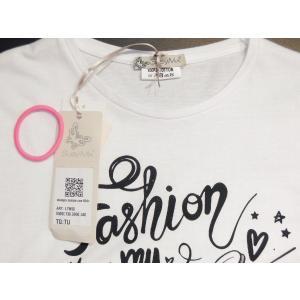 イタリア製 ロゴプリント半袖Tシャツ レディース 白 白Tシャツ ホワイト 30代 40代 春夏 9号 カットソー おしゃれ 通販 Susy Mix|classica|08