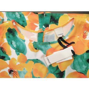 イタリア製 花柄半袖プルオーバー レディース フラワー ボタニカル 9号 11号 派手 おしゃれ 夏 春 トップス カットソー 30代 40代 通販|classica|08
