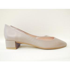POPSポップス/イタリア製 セパレートパンプス 靴 レディース 23.5cm 24cm 24.5cm 25cm 36 37 38 レザー 本革 ライラックグレー ローヒール|classica|04