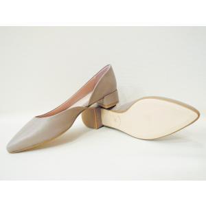 POPSポップス/イタリア製 セパレートパンプス 靴 レディース 23.5cm 24cm 24.5cm 25cm 36 37 38 レザー 本革 ライラックグレー ローヒール|classica|05