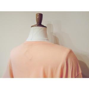 メキシコ製 M//C メッセージTシャツ レディース 半袖 カットソー 通販 丸首 ロックT ロゴT 女性 サーモンピンク  大人 ピンク|classica|07