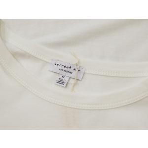 アメリカ ラインスリーブTシャツ 半袖 カットソー ホワイト 白 レディース 9号 M 丸首 カジュアル 女性 通販 おしゃれ 白T classica 08