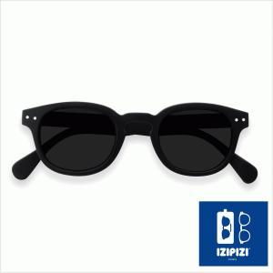 イジピジ/IZIPIZI サングラス ボスリントン 黒 ブラック メンズ レディース 男性 女性 人気 紫外線 眼鏡 UVカット 通販 #C SUN-Sunglasses classica