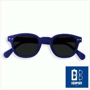 イジピジ/IZIPIZI サングラス メンズ レディース 男性 女性 ネイビー 通販 兼用 ウェリントン プレゼント おしゃれ UVカット #C SUN-Sunglasses|classica