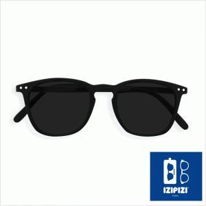 イジピジ IZIPIZI サングラス #E ウェリントン 黒 ブラック メンズ レディース ブランド 海外 兼用 人気 紫外線 UVカット おしゃれ 正規品 classica