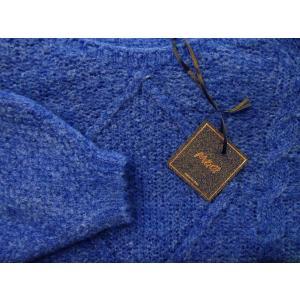 イタリア製 ざっくりモヘアショート丈ニット レディース セーター ブルー 青 通販 9号 11号 ウール おしゃれ 海外 ブランド 通販 カジュアル|classica|08