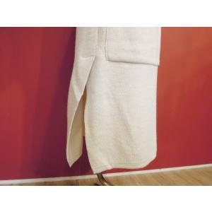 イタリア製 フード付きロングニットカーディガン レディース 白 ホワイト コーディガン コート 11号 L 通販 アウター おしゃれ ブランド 海外 classica 07
