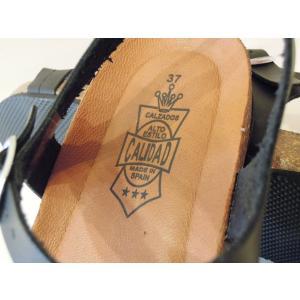 CALIDAD フラットサンダル レディース 37 23.5cm 黒 ブラック ペタンコ 通販 おしゃれ バックストラップ 合皮 婦人 女性 靴 classica 08