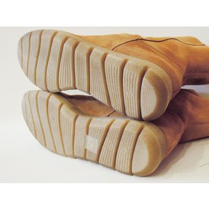 スペイン製 スエードレザーミドルブーツ レディース 37 23.5cm ブラウン 茶色 通販 スウェード おしゃれ 靴 本革 ラウンドトゥ|classica|07