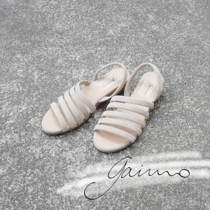 ガイモ gaimo バックストラップウェッジサンダル レディース 36 23cm ベージュ ELVA 通販 おしゃれ ウェッジヒール 靴 婦人 女性|classica