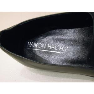 HAIKON HADAアイコンアダ/レザーポインテッドトゥローファー 37 39 23.5cm 24.5cm レディース ブラック 黒 フラットシューズ スペイン製 おしゃれ 通販|classica|08