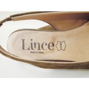 Lince バックストラップミュールサンダル レディース 37 23.5cm カーキ パンプス 靴 春 夏 スペイン製 通販 おしゃれ スエード|classica|07