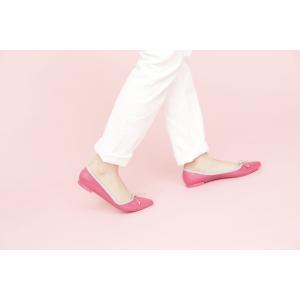 TEMPERATEテンパレイト/バレエシューズ パンプス ピンク 39 24cm 24.5cm レインシューズ 靴 レディース ALMAアルマ ポインテッドフラットシューズ 通販|classica|07