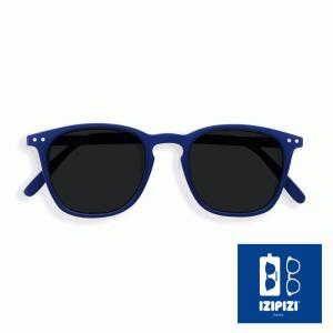 フランス IZIPIZI サングラス メンズ レディース 兼用 ウエリントン イジピジ 紫外線 おしゃれ 眼鏡 男性 女性 #E SUN-Sunglasses Navy Blue|classica