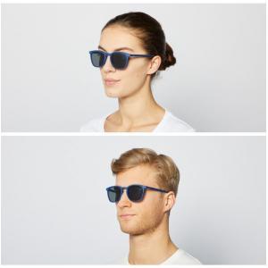 フランス IZIPIZI サングラス メンズ レディース 兼用 ウエリントン イジピジ 紫外線 おしゃれ 眼鏡 男性 女性 #E SUN-Sunglasses Navy Blue|classica|02