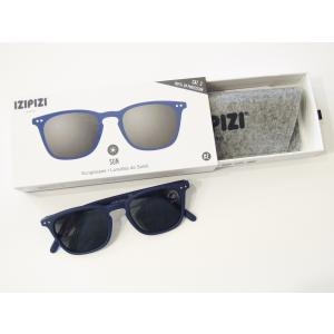 フランス IZIPIZI サングラス メンズ レディース 兼用 ウエリントン イジピジ 紫外線 おしゃれ 眼鏡 男性 女性 #E SUN-Sunglasses Navy Blue|classica|07