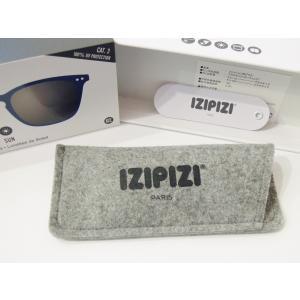 フランス IZIPIZI サングラス メンズ レディース 兼用 ウエリントン イジピジ 紫外線 おしゃれ 眼鏡 男性 女性 #E SUN-Sunglasses Navy Blue|classica|08