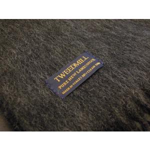 TWEEDMILL ウールマフラー レディース ツイードミル ストール グレー チャコール ラムウール 通販 おしゃれ プレゼント 無地 イギリス製 classica 06