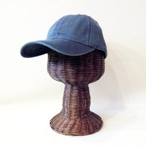 USインポート ベースボールキャップ レディース ネイビー フリーサイズ 帽子 通販 おしゃれ 無地 野球帽 ウォッシュカラー bbcap 紺 コットン|classica