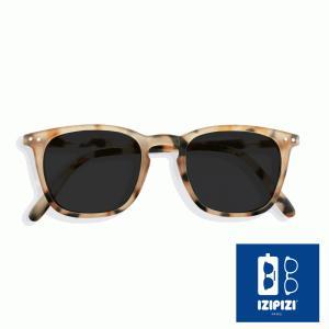 イジピジ/IZIPIZI サングラス べっ甲 ウエリントン メンズ レディース 兼用 人気 おしゃれ 紫外線 眼鏡 #E SUN-Sunglasses Light Tortoise|classica