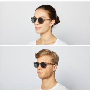 イジピジ/IZIPIZI サングラス べっ甲 ウエリントン メンズ レディース 兼用 人気 おしゃれ 紫外線 眼鏡 #E SUN-Sunglasses Light Tortoise|classica|02