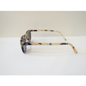 イジピジ/IZIPIZI サングラス べっ甲 ウエリントン メンズ レディース 兼用 人気 おしゃれ 紫外線 眼鏡 #E SUN-Sunglasses Light Tortoise|classica|03