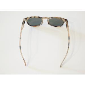 イジピジ/IZIPIZI サングラス べっ甲 ウエリントン メンズ レディース 兼用 人気 おしゃれ 紫外線 眼鏡 #E SUN-Sunglasses Light Tortoise|classica|04