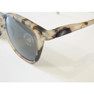 イジピジ/IZIPIZI サングラス べっ甲 ウエリントン メンズ レディース 兼用 人気 おしゃれ 紫外線 眼鏡 #E SUN-Sunglasses Light Tortoise|classica|05