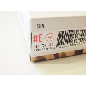 イジピジ/IZIPIZI サングラス べっ甲 ウエリントン メンズ レディース 兼用 人気 おしゃれ 紫外線 眼鏡 #E SUN-Sunglasses Light Tortoise|classica|09