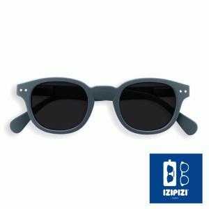 イジピジ/IZIPIZI サングラス レディース メンズ ボスリントン ボストン グレー 人気 男性 女性 紫外線 眼鏡 #C SUN-Sunglasses Grey|classica