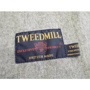 TWEEDMILL/ツイードミル ウールマフラー レディース グレー 灰色 ストール 30×160 ラムウール ブランド 海外 イギリス製 オシャレ 通販|classica|07