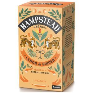 HAMPSTED ハムプステッド オーガニック ハーブティー レモンジンジャー  ティーバッグ 2g X 20P  有機栽培|classicalcoffee