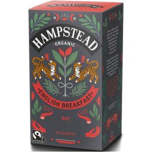 HAMPSTED ハムプステッド オーガニック ハーブティー イングリッシュ ブレックファースト ティーバッグ 2g X 20P 【 送料無料 5000円以上のお買い物】 有機栽培|classicalcoffee