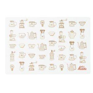 カリタ kalita ポリランチョンマット #71131|classicalcoffee