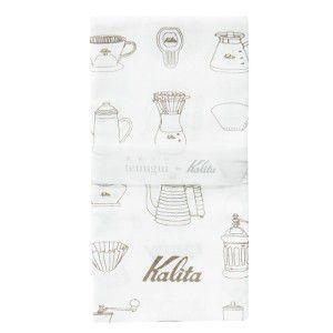 カリタ Kalita 手ぬぐい #71137|classicalcoffee