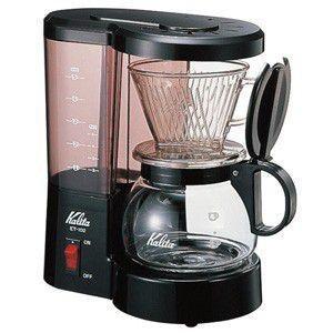 カリタ kalita コーヒーメーカー ET-102(ブラック)#41005  コーヒーブルーワー|classicalcoffee