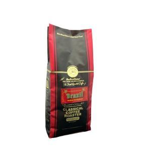 コーヒー 珈琲 ブラジルサントス SC17/18 ストレート コーヒー豆 500g 1.1lb 豆 or 挽  クラシカルコーヒーロースター|classicalcoffee