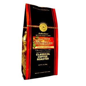 コーヒー 珈琲 ブラジルサントス ディープストロングロースト シングルオリジン コーヒー豆 8.8oz 250g 豆 or 挽|classicalcoffee