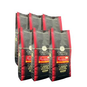 コーヒー 珈琲 コーヒー豆 6kg プレミアム ブレンド コーヒー 1.1lb 500g 12個セット 豆 のまま|classicalcoffee