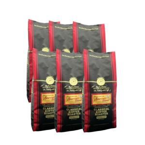 コーヒー 珈琲 コーヒー豆 6kg アメリカン ブレンド コーヒー 1.1lb  500g 12個セット 豆 のまま|classicalcoffee