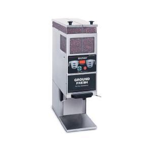 BUNN BrewWISE専用コーヒーカッター G9-2TDBC 単相100V,0,82kw|classicalcoffee