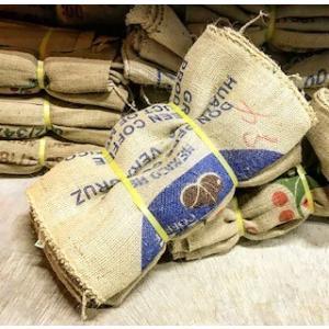 コーヒー生豆の入っていた本物の麻袋 10セット  ■商品詳細 ・麻袋サイズ:横幅 約650mm・縦 ...