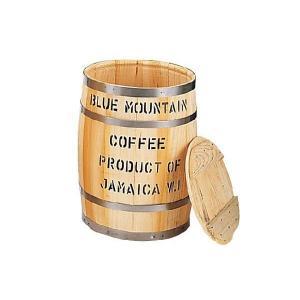 送料無料 ブルマン コーヒー 空樽 NO3 口径300mm 高さ420mm ブルーマウンテン コーヒー 木の樽 クラシカルコーヒーロースター|classicalcoffee