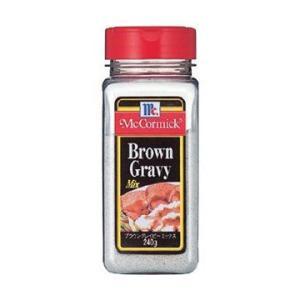 グレイビーソース ロコモコにも マコーミック ブラウン グレイビーミックス 240g プラボトル classicalcoffee
