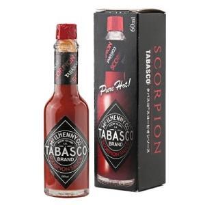 タバスコ スコーピオン ソース 60ml TABASCO 激辛 日本一辛い|classicalcoffee